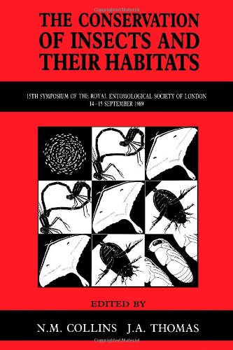 9780121813703: The Conservation of Insects and Their Habitats (Symposia of the Royal Entomological Society of London)