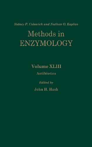 Antibiotics : Volume 43: Antibiotics (Methods in Enzymology, Vol. 43)
