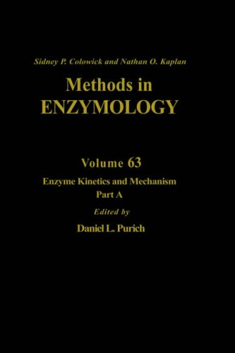 9780121819637: Enzyme Kinetics and Mechanism, Part A: Initial Rate and Inhibitor Methods, Volume 63