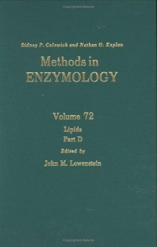 9780121819729: Methods in Enzymology, Volume 72: Lipids, Part D