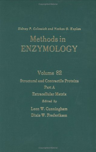 9780121819828: Methods in Enzymology, Volume 82: Structural and Contractile Proteins, Part A: Extracellular Matrix