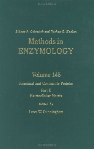 Methods in Enzymology: Structural and Contractile Proteins: Cunningham, L W