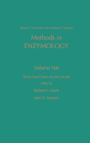 9780121820671: Methods in Enzymology, Volume 166: Branched Chain Amino Acids