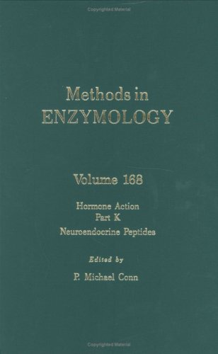 9780121820695: Methods in Enzymology, Volume 168: Hormone Action, Part K: Neuroendocrine Peptides
