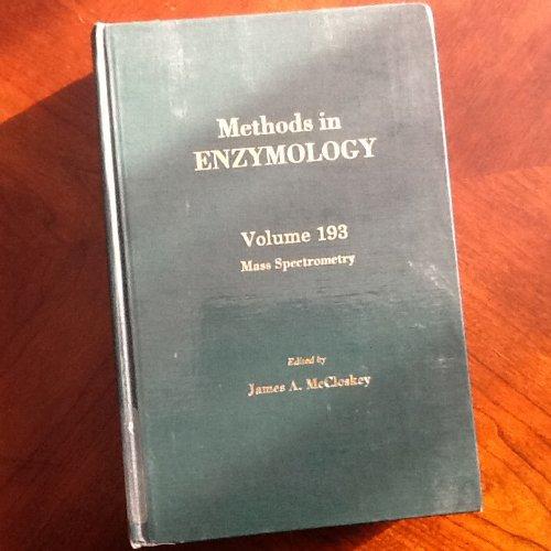 9780121820947: Mass Spectrometry, Volume 193: Volume 193: Mass Spectometry (Methods in Enzymology)