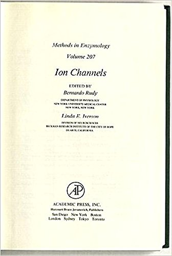 Ion Channels, Volume 207 (Methods in Enzymology): Editor-John N. Abelson;