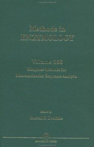 9780121821678: Computer Methods for Macromolecular Sequence Analysis, Volume 266 (Methods in Enzymology,)