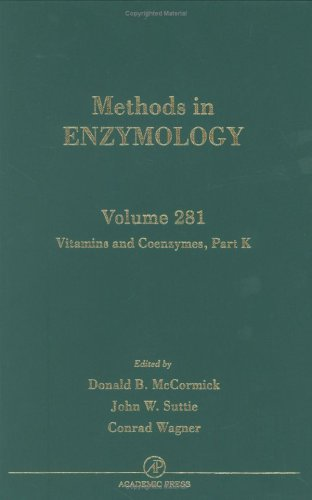Vitamins and Coenzymes: Vol 281: McCormick, Donald B. (Editor)/ Colowick, Sidney P./ Suttie, John W...