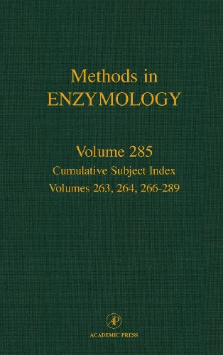 9780121821869: Cumulative Subject Index, Volumes 263, 264, 266-289, Volume 285 (Methods in Enzymology)