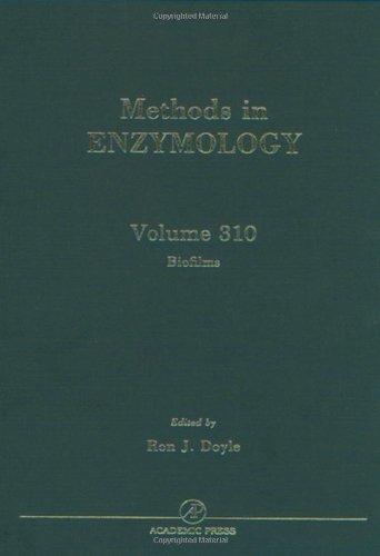 9780121822118: Biofilms, Volume 310 (Methods in Enzymology)