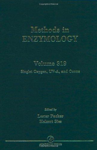 9780121822200: Singlet Oxygen, UV-A and Ozone, Volume 319 (Methods in Enzymology)