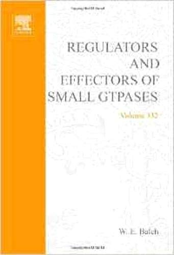 9780121822330: Regulators and Effectors of Small GTPases, Part F: Ras Family I, Volume 332 (Methods in Enzymology)