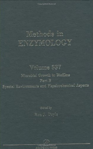 9780121822385: Microbial Growth in Biofilms: Special Environments and Physicochemical Aspects Pt. B (Methods in Enzymology)