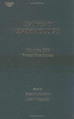 9780121822699: Protein Phosphatases: 366 (Methods in Enzymology)