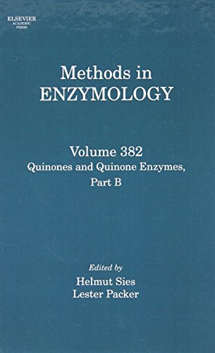 9780121827861: Quinones and Quinone Enzymes, Part B, Volume 382 (Methods in Enzymology)