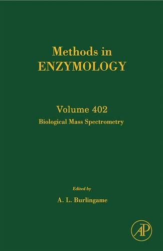 9780121828073: Methods in Enzymology, Volume 402: Biological Mass Spectrometry