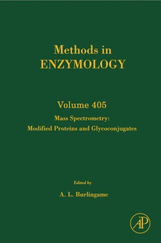 9780121828103: Mass Spectrometry: Modified Proteins and Glycoconjugates (Methods in Enzymology)