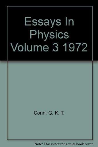9780121848033: Essays in Physics