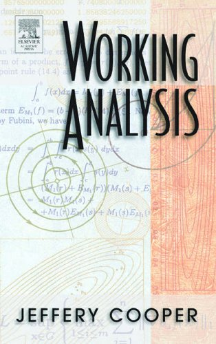 9780121876043: Working Analysis
