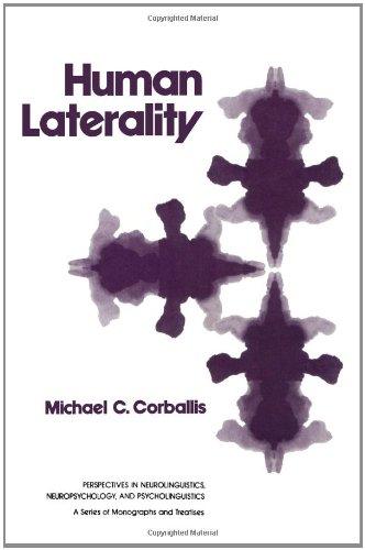9780121881801: Human Laterality (Perspectives in neurolinguistics, neuropsychology, and psycholinguistics)