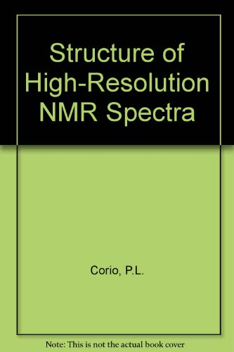 9780121887506: Structure of High-Resolution NMR Spectra