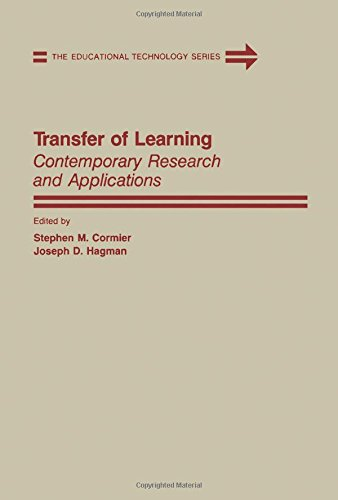 9780121889500: Transfer of Learning: Contemporary Research and Applications (The Educational technology series)