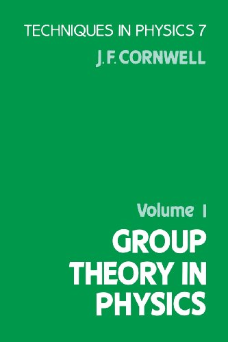9780121898038: Group Theory in Physics (Techniques in Physics, Vol 1)