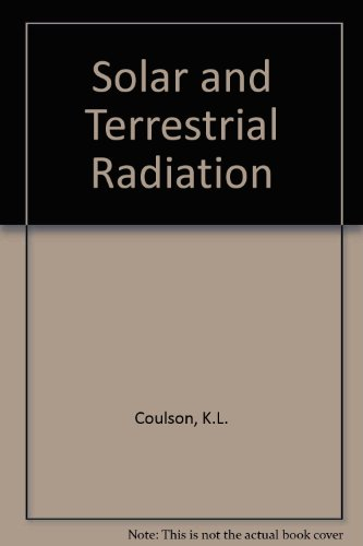 9780121929503: Solar and Terrestrial Radiation: Methods and Measurements