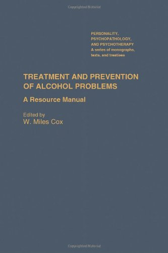 9780121944704: Treatment and Prevention of Alcohol Problems (Personality & Psycho-pathology Monographs)