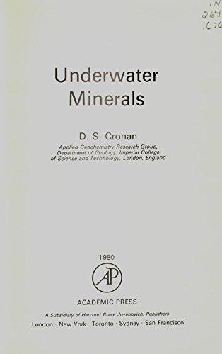 Underwater Minerals: Cronan, D S