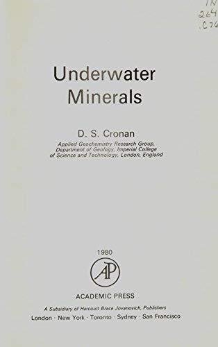 9780121974800: Underwater Minerals (Ocean Science, Resources, and Technology, An International Series)
