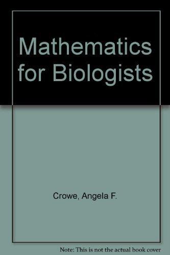 9780121982508: Mathematics for Biologists