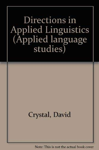 9780121984205: Directions in Applied Linguistics (Applied language studies)