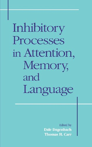 9780122004100: Inhibitory Processes in Attention, Memory and Language