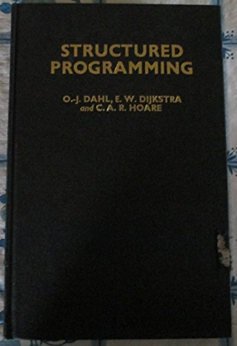 9780122005503: Structured Programming (Studies in data processing / Brighton College of Technology. Automatic Programming Information Centre)