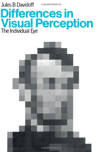 9780122048500: Differences in visual perception: The individual eye