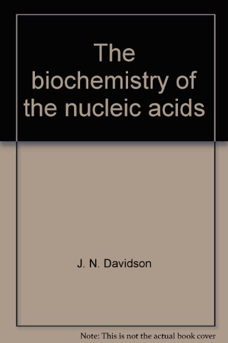 9780122053504: The biochemistry of the nucleic acids