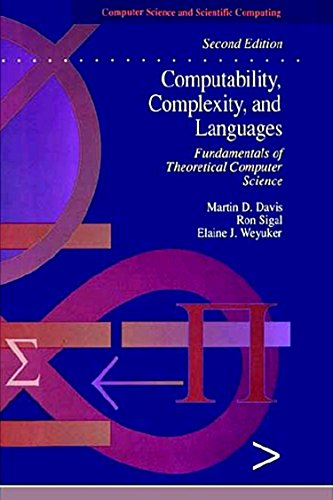 9780122063824: Computability, Complexity, and Languages, Second Edition: Fundamentals of Theoretical Computer Science (Computer Science and Scientific Computing)