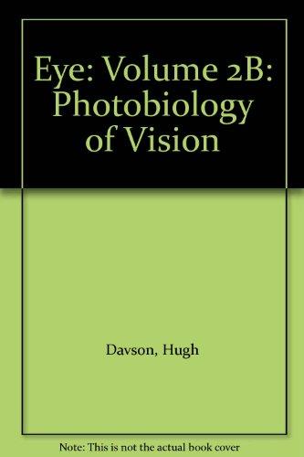 9780122067624: Eye: Volume 2B: Photobiology of Vision