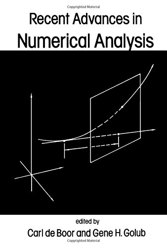 9780122083600: Recent Advances in Numerical Analysis