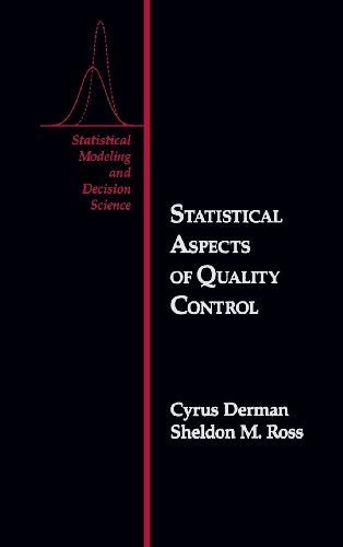 9780122100109: Statistical Aspects of Quality Control (Statistical Modeling and Decision Science)