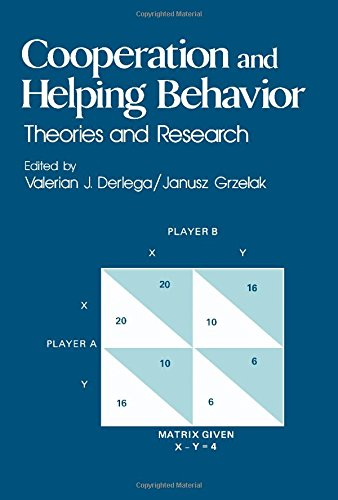 Cooperation and Helping Behavior: Theories and Research: Derlega, V.