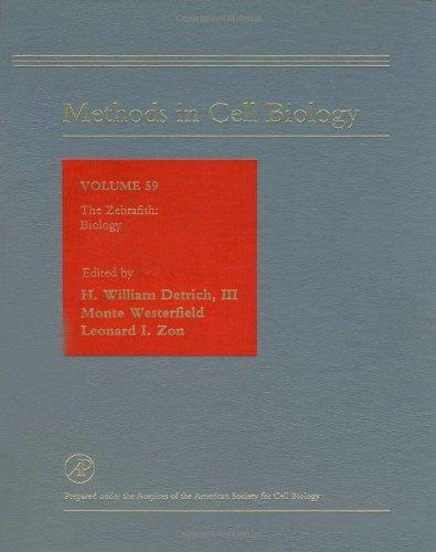 9780122121708: The Zebrafish: Biology, Volume 59 (Methods in Cell Biology)