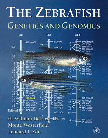 9780122121722: The Zebrafish: Genetics and Genomics (Methods in Cell Biology)