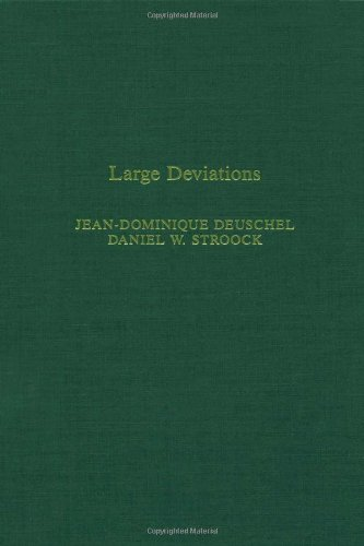 9780122131509: Large deviations, Volume 137 (Pure and Applied Mathematics)