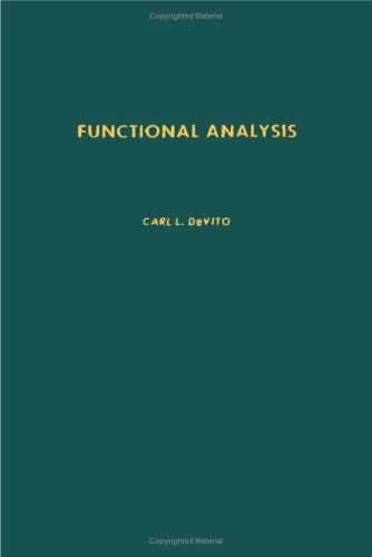9780122132506: Functional Analysis (Pure and applied mathematics)