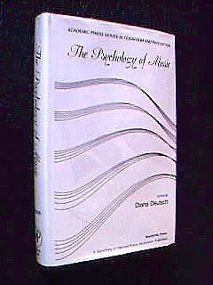 9780122135606: The Psychology of Music (Academic Press Series in Cognition and Perception)