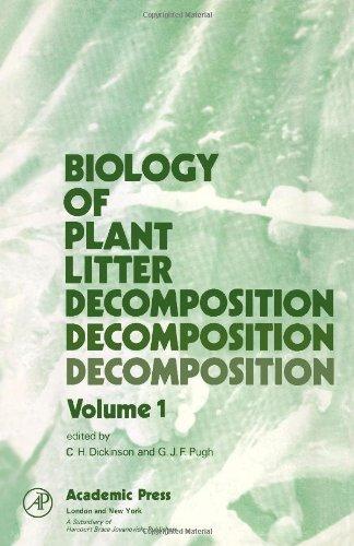 9780122150012: Biology of Plant Litter Decomposition: v. 1