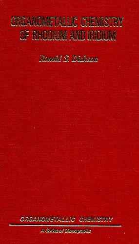 9780122154805: Organometallic Chemistry of Rhodium and Iridium