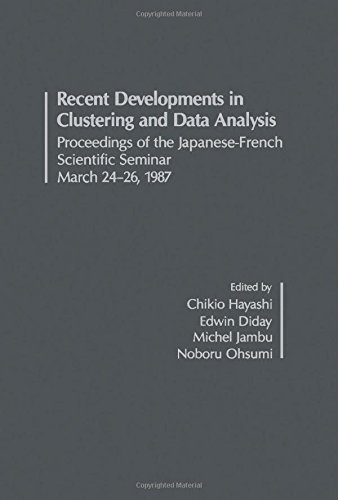 9780122154850: Recent Developments in Clustering and Data Analysis: Proceedings of the Japanese-French Scientific Seminar
